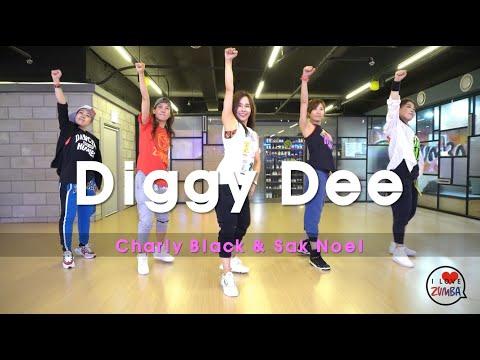 [ZUMBA]  Diggy Dee  /  Charly Black U0026 Sak Noel  /  WORK OUT / CINDY