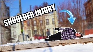 FREAK ACCIDENT SNOWSKATE SLAM!