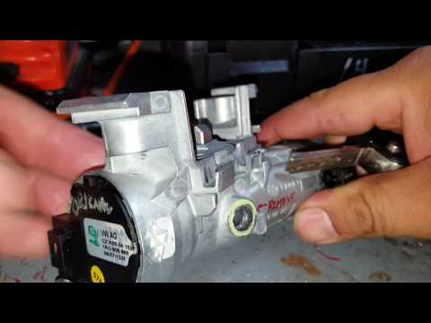 Mk V Jetta Ignition cylinder fix