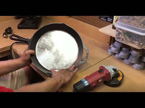 DIY: Polishing Cast Iron Cookware