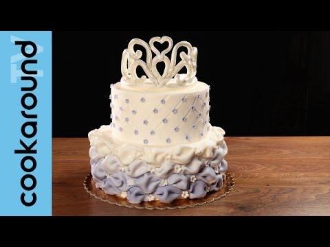 Una torta da principessa con pasta di zucchero: tutorial!