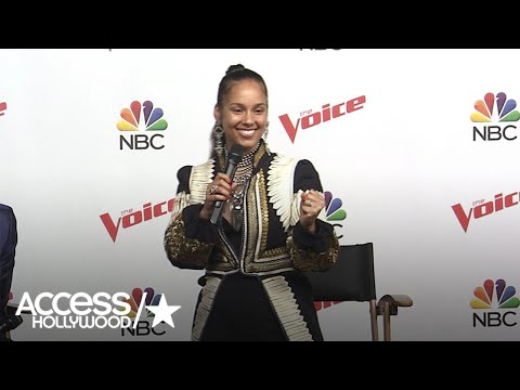 'The Voice': Alicia Keys Celebrates Victory Over Blake Shelton