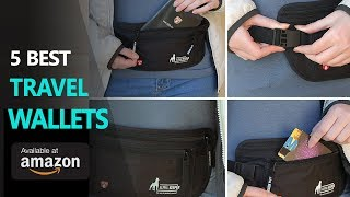 Travel Wallet ● 5 Best Travel Wallets You Can Buy Now on Amazon