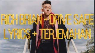 Rich Brian - Drive Safe  Lyrics - Terjemahan Bahasa Indonesia