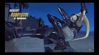 Flying Widowmaker?! Overwatch Funny Moments Montage #1