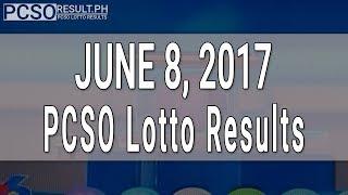 Lotto Result June 8, 2017 (6/49, 6/42, 6D, Swertres & EZ2)
