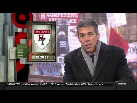 ESPN's College GameDay Live From Harvard