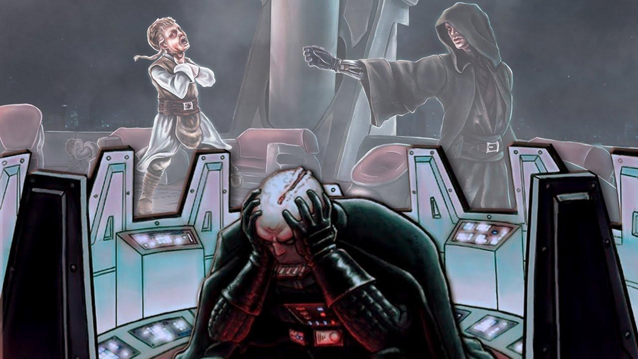 Hat es Darth Vader bereut, dass er die Jünglinge getötet hat?