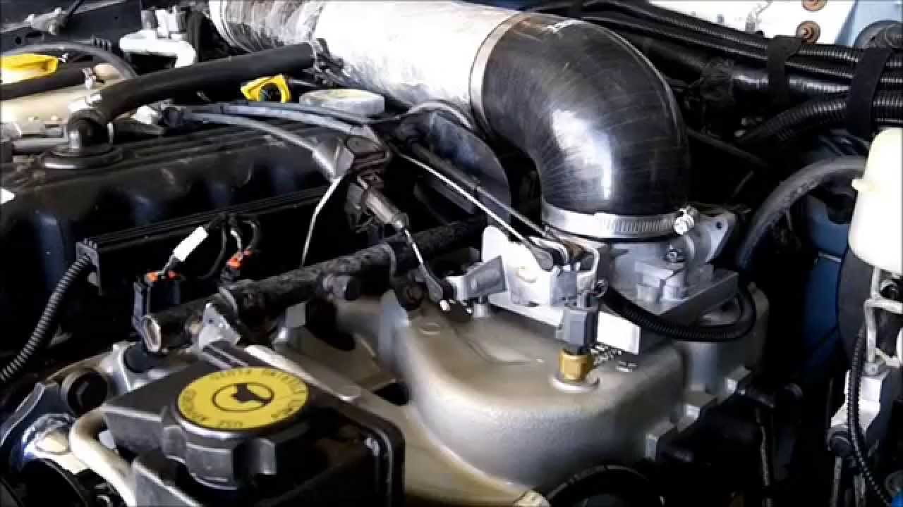 installing upgraded intake manifold and pacesetter header on jeep cherokee youtube [ 1280 x 720 Pixel ]