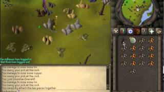 07 Old School Runescape Skill Guide; Mining Copper and Tin (Levels 1-41)