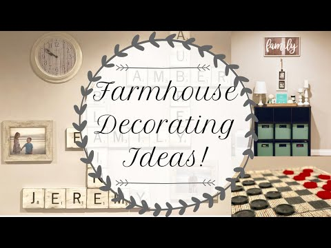 ✨FARMHOUSE DECORATING IDEAS | FARMHOUSE DECOR | FARMHOUSE DECOR DIY | DECORATE WITH ME✨