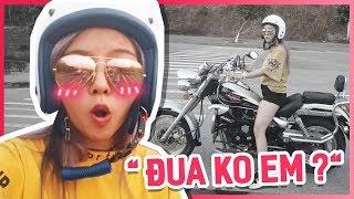 Chủ Tịch Giả Vờ Tập Chạy Xe Moto Và Cái Kết | ĐỪNG BAO GIỜ XEM THƯỜNG NGƯỜI KHÁC =))
