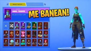 Fortnite I BANEA the account... (+115 Skins and 50,000 Turkeys)