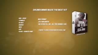 Drumdummie Made the Beat Kit (Coming SOON) 2017 (@Kingdrumdummie)