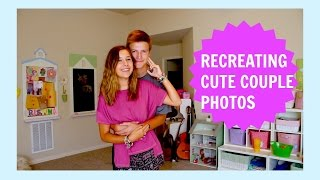 RECREATING CUTE COUPLE PHOTOS! || ft. Ben and Alexa