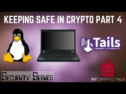 Keeping Safe in Crypto Series - Part 4 - Offline Cold Storage Device | Air Gapped Wallet