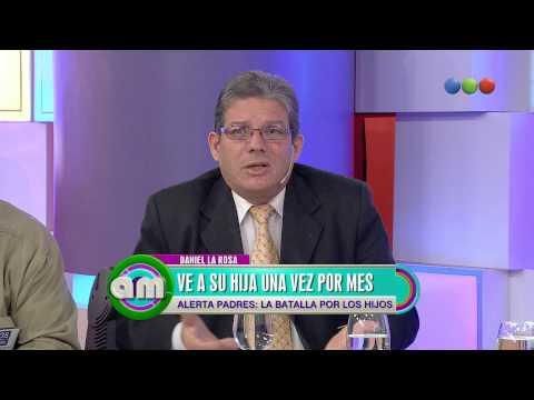 Daniel La Rosa reclama ver a su hija - AM 2015