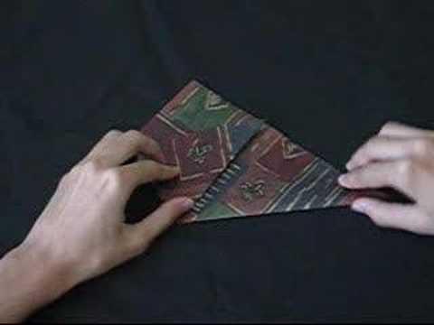 Tutorial Origami - Vaso