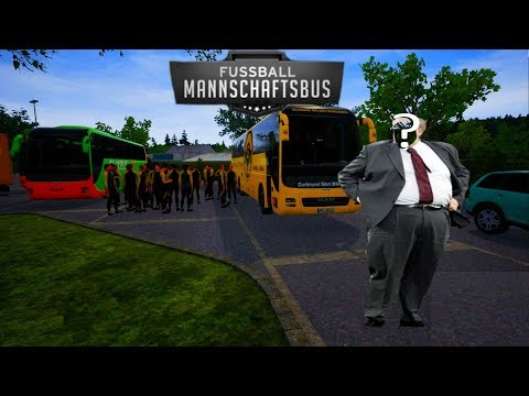 Calli auf Bustour! #1 - FERNBUS SIMULATOR / Fußball Mannschaftsbus DLC |