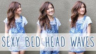 Sexy Bed Hair // Hair Tutorial  | Ilikeweylie