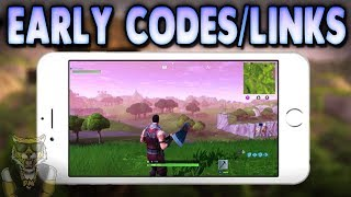 HOW TO GET FORNITE IPHONE LINK/CODE EARLY! HOW TO PLAY FORTNITE ON YOUR PHONE EARLY thumbnail