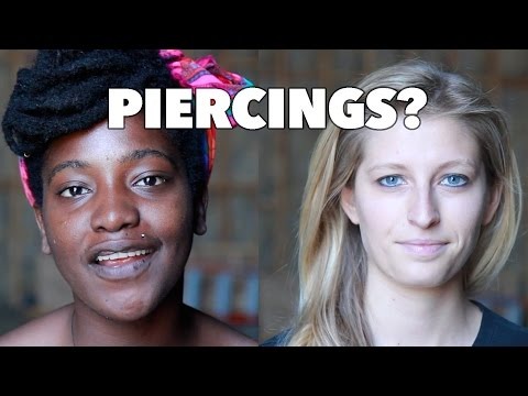 Can You Tell Who Has More Piercings?