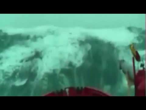 Record-breaking Wave in Nord Atlantic (47m)