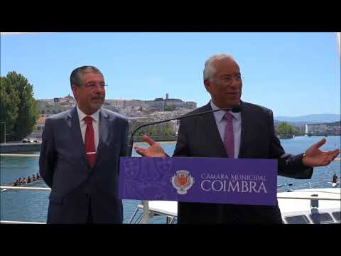 Intervenção de António Costa na consignação do desassoreamento do Mondego