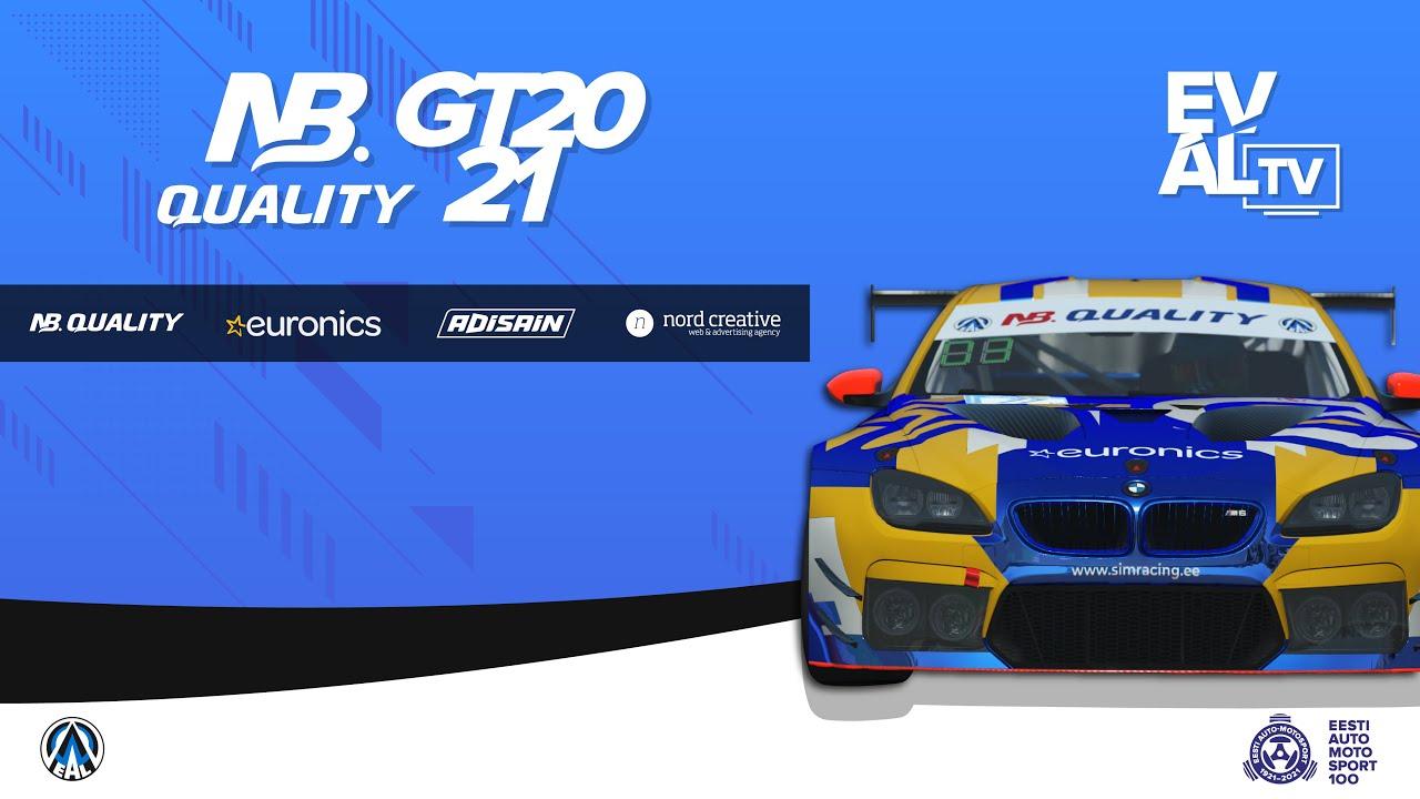 NB Quality 2021 GT 1. Etapp - Dubai Autodrome (B - Finaal, kommentaatoriteta)