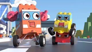 ✈ 🚗 ЧиЧиЛенд - Мои крылья - Мультики про машинки-трансформеры - Играем с конструктором!