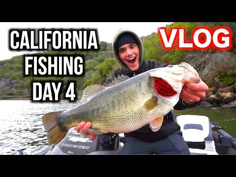 Day in the Life: California Fishing Day 4 VLOG (NEW PB BASS!!!)