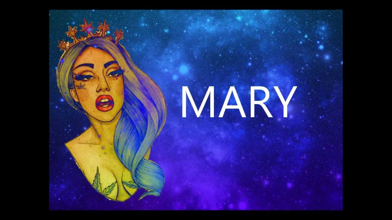 Lady Gaga - Mary Jane Holland (Lyrics on screen) - YouTube