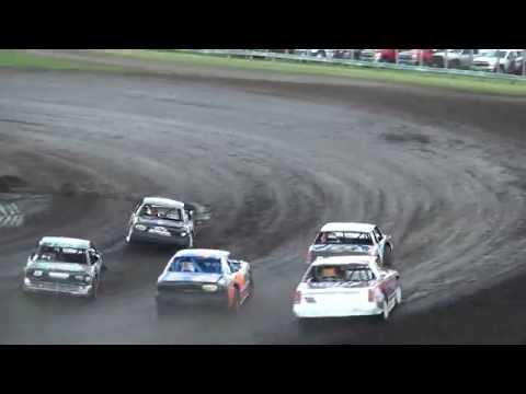 Stock Car Heat 2 Benton County Speedway 6/5/16