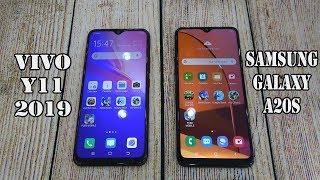 Vivo Y11 (2019) vs Samsung Galaxy A20s   SpeedTest and Camera comparison
