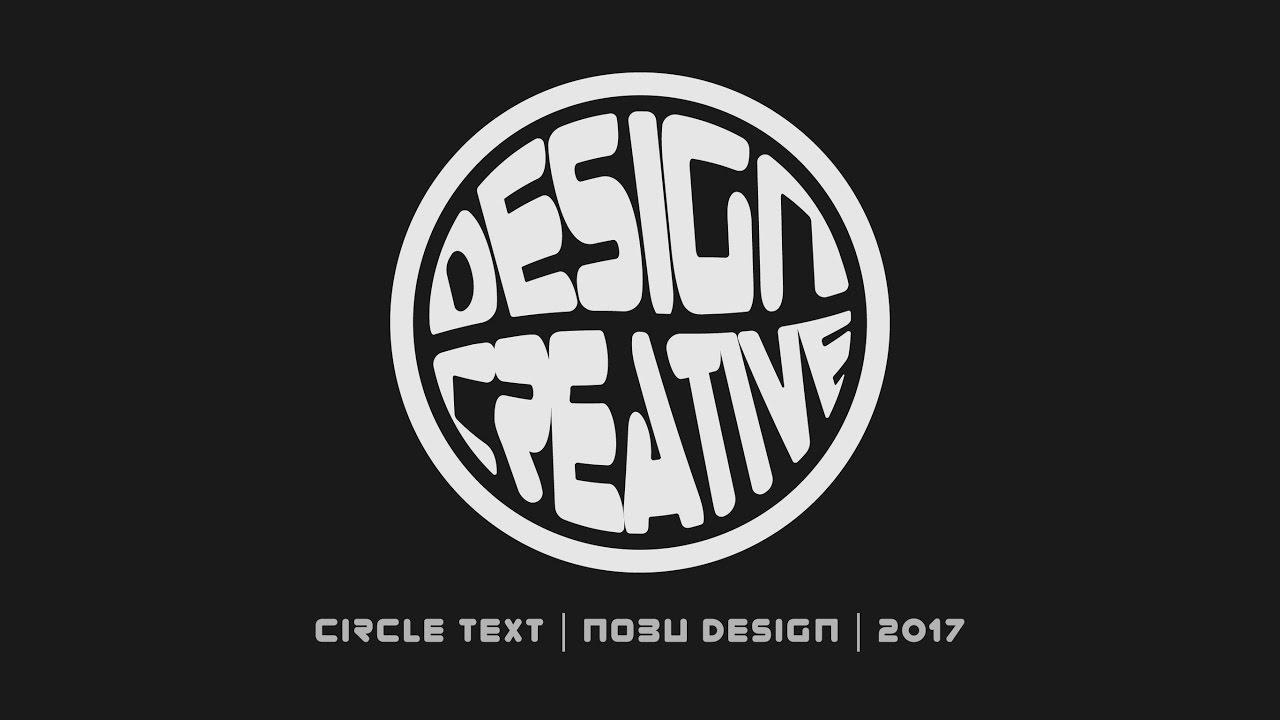 How to Make Circle Typography in Adobe Illustrator   Illustrator Tutorial