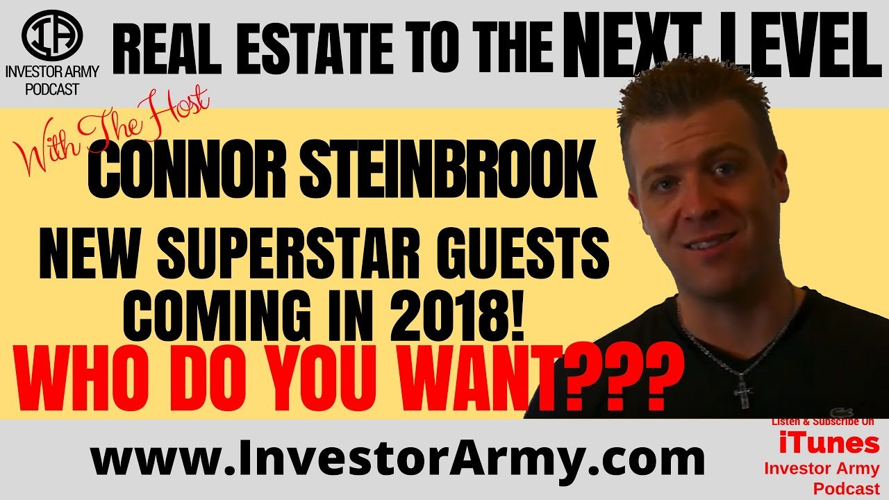 New Superstar GUESTS coming in 2018... Who do you want???