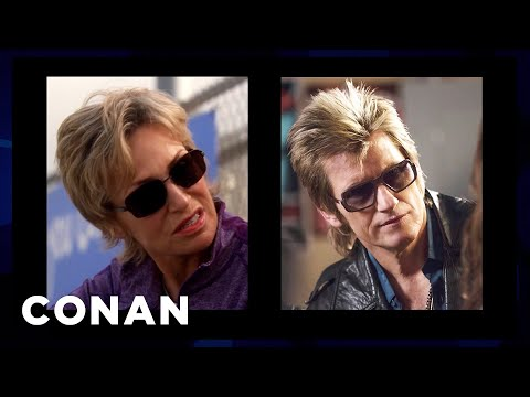 Denis Leary On Jane Lynch & Other Celebrities He Gets Mistaken For   CONAN on TBS