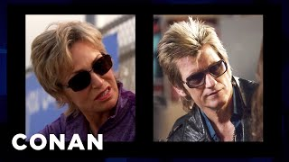 Denis Leary On Jane Lynch & Other Celebrities He Gets Mistaken For  - CONAN on TBS