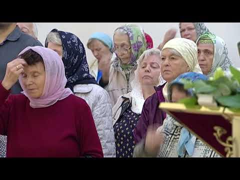 Архиерейское богослужение в храме иконы Божией Матери именуемой «Неопалимая купина» в Москве