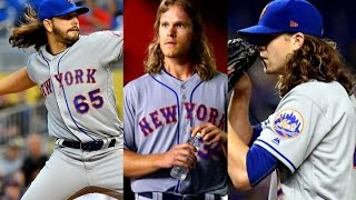 Who has the best Mets Hair: Syndergaard, deGrom, or Gsellman?