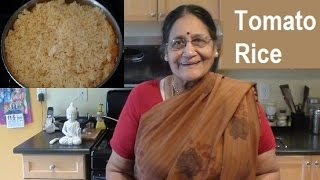 Tomato Rice in Tamil