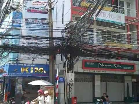 Power Lines in Vietnam