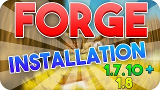 Minecraft 1.8 - 1.12 Forge Modloader Installation! | German Deutsch