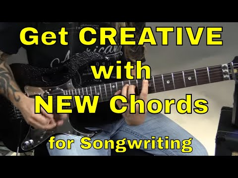 3 Ways to Get More Creative with NEW Guitar Chords for Songwriting