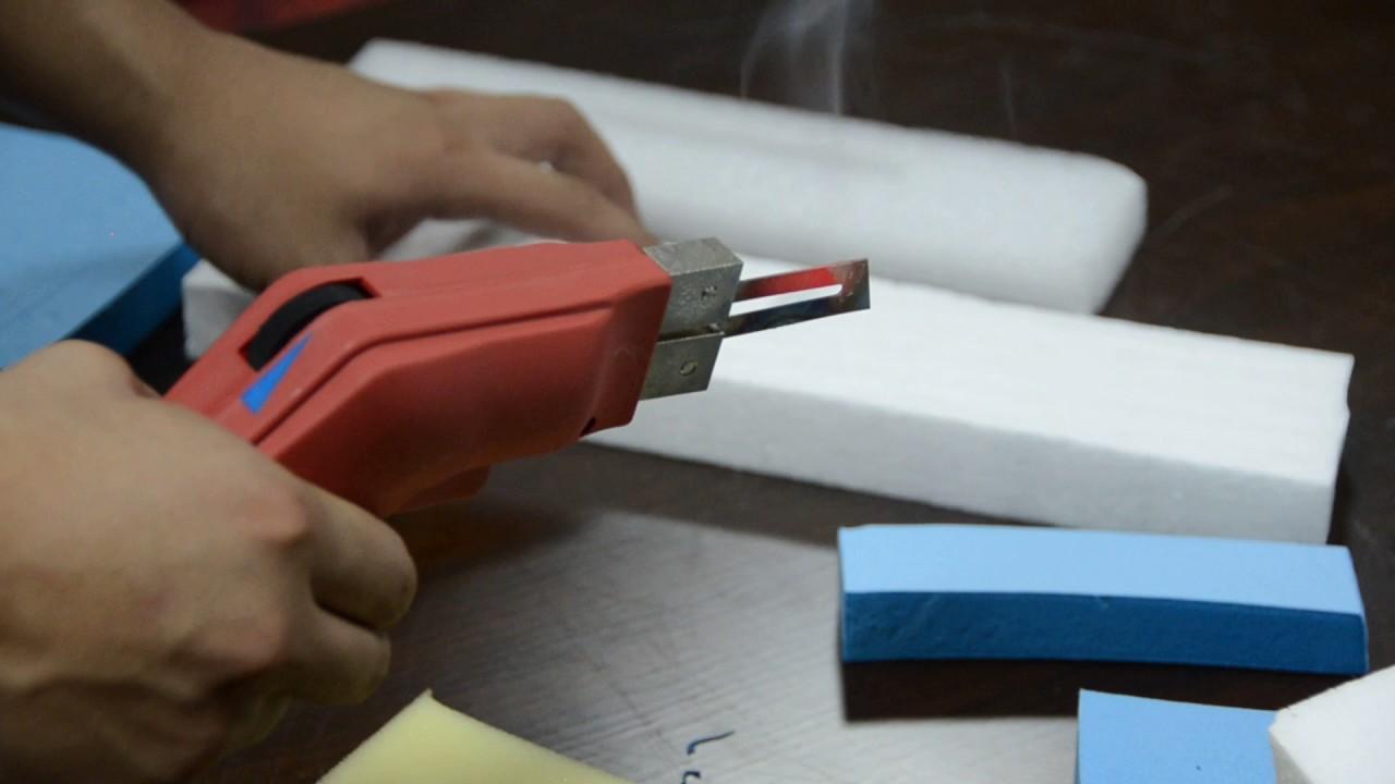 How to cut Styrofoam/EPE/EPS/XPS