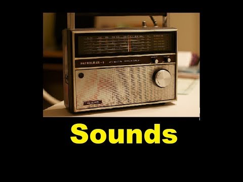 Radio Noise Sound Effects All Sounds