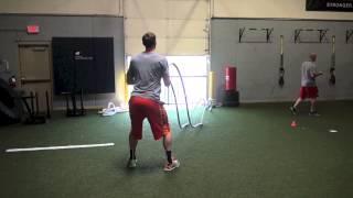 Gordon Hayward training at SVSP, Pt. II - In the Weight Room