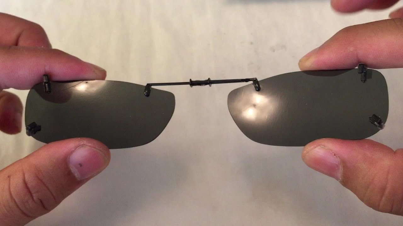 simple clip on sunglasses for prescription eye glasses