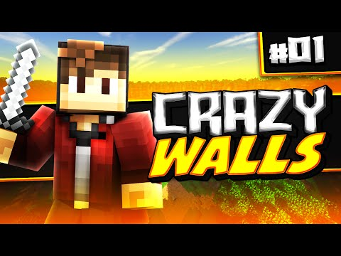 Minecraft: Hypixel Crazy Walls! Ep 1 -