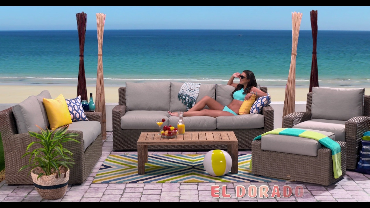 El Dorado Furniture Commercial Patio Youtube